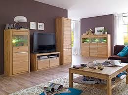 expendio wohnzimmer pisa 51 eiche bianco massiv 5 teilig