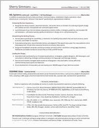 Technical Writer Resume Sample Fresh Examples Of Profiles For Resumes Free Download
