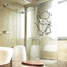 45x30cm dusche glastür aufkleber kinder bad wandaufkleber