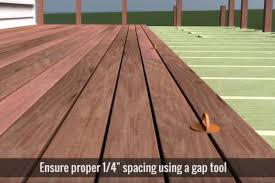 Floor Joist Span Table Deck by Decking Installation Guide Hardwood Decking Install Requirements