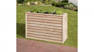 mr gardener hochbeet schmal 45x125x80 cm lärche