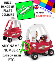 PERSONALISED NUMBER PLATE Fits FIRE Little Tikes Cozy Coupe Car Kids ... Little Tikes Cozy Coupe Ride On Walmart Canada Thomas Ride On Power Wheel Volkswagen Bus Transporter The 4 Steps Behind The Wheel Of Mental Floss Heres Why You Should Attend Webtruck 620744 Truck Blue Amazonco My Makeover Carters Cozy Coupe Fire Truck Party Carter Engine 172502 Mr With Mustache Red Push Rideons Engine Electric Battery Powered 12v Fireman