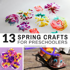 13 Easy And Fun Spring Crafts For Preschoolers