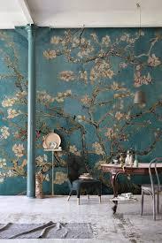 papier peint amandier en fleurs de gogh murals