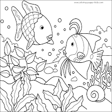 Pictures Coloring Pages Fish 18 With Additional Seasonal Colouring