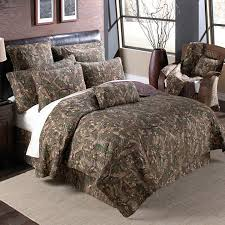 quilted camouflage bedding