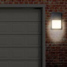 rectangular outdoor led wall pack light with dusk to sensor