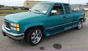 1994 GMC Sierra 1500 SLE Club Cab Pickup Truck | Item H9591 ... Gmc Sierra 1500 Questions How Many 94 Gt Extended Cab Used 1994 Pickup Parts Cars Trucks Pick N Save Chevrolet Ck Wikipedia For Sale Classiccarscom Cc901633 Sonoma Found Fuchsia 1gtek14k3rz507355 Green Sierra K15 On In Al 3500 Hd Truck Sle 4x4 Extended 108889 Youtube Kendale Truck 43l V6 With Custom Exhaust Startup Sound Ive Got A Gmc 350 It Runs 1600px Image 2