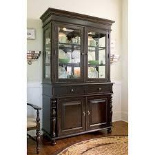 Pulaski Glass Panel Display Cabinet by Paula Deen Home China Cabinet Tobacco Hayneedle