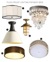 the 30 best flush mount lighting fixtures it lovely