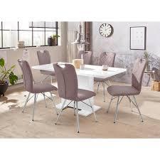 hela essgruppe cleo set 5 tlg bestehend aus einem tisch ausziehbar und 4 stühlen