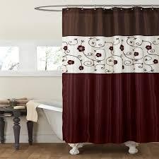 Lush Decor Window Curtains by Amazon Com Lush Decor Royal Garden Shower Curtain 72 X 72 Inches