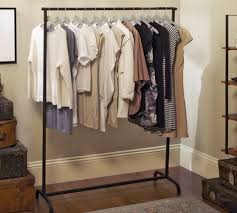 Best Blacksmith Clothes Rack Pottery Barn With Clothing Nyc Plan