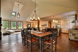 recessed lighting dining room table dining table design