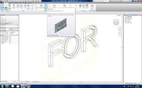 RevitCitycom 3D Letters