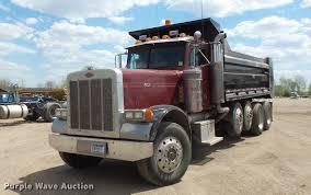 100 Quad Dump Trucks For Sale 1991 Peterbilt 379 Dump Truck Item DV9716 SOLD June 14