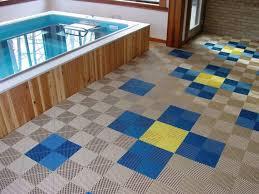 Glamorous Plastic Garage Flooring 24 Interlocking Modular Hongewin Tiles