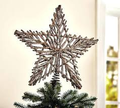 Lighted Star Tree Toppers Blue Topper Twig Walmart