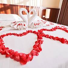 aliengt 5500 stück rosenblätter rot rosenblüten künstlich deko blütenblätter hochzeit kunstrosenblätter gechenk für romantische atmosphäre