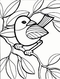Nice Coloring Page Bird 37