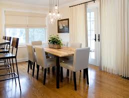 Dining Room Chairs Clearance Contemporary With Neutral Upholstered Chandelier