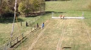 Leeds Pumpkin Patch Columbus Ohio by Hunter On A Zipline At Leeds Farm In Columbus Ohio Youtube