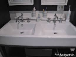 Boys Bathroom Reveal - Pink Fortitude, LLC Pottery Barn Bathroom Sink Faucets Sinks 2017 Cheap Sink Faucets Walmart Best Benchwright Towel Bar Finishes Glamorous Double Bowl Bathroom Doublebowlbathroom Bathrooms Design Fancy Double With White Cheapskfautswallporcelain And White Gold How To Mix Metals The Bathroom Cabinets Interesting Sconces Chrome This Is Johns Vanity Area Kohler Memoirs And Faucet Fossett Kitchen For Square