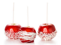 Candy Apples Recipe In Salient Cake With Halloween Candy Apples