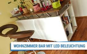 wohnzimmer bar mit led beleuchtung plattenzuschnitt24 de