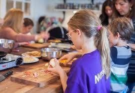 Kids cook up a storm at the Pantry at Delancey