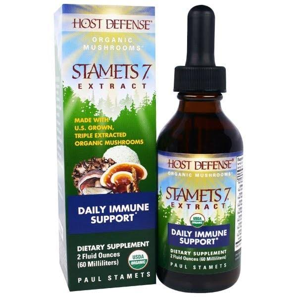 Host Defense Stamets 7 Daily Immune Support - 60ml
