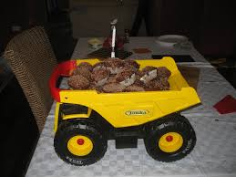 100 Tonka Truck Birthday Party Cupcakes I Did The Cupcakes And The Stands