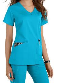 Ceil Blue Print Scrub Jackets by 15 Ceil Blue Print Scrub Jackets Nurse Mates Bright Dot