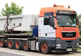 100 Truck It Transport MAN TGX 41540 Universal Wwwtruckscranesnl