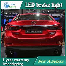 Car Styling Rear Bumper LED Brake Lights Warning Lights case For