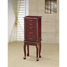 Waterford Jewelry Armoire - Cherry | Hayneedle 102 Best Jewelry Armoire Images On Pinterest Armoire Fniture Mirrored Wardrobe Mahogany Locking With Personalized Eraving With Amazoncom Belham Living Luxe 2door Finish Cherry Wood Charming Cheval Mirror Ideas Decor Pretty Design Of Walmart Perfect For Standing White Ikea Large Size Armoirefloor Gannon Multiple Colors By Acme 97211acme Burnished Oak Round Hayneedle