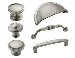 Brushed Nickel Cabinet Knobs Bulk by Amerock Satin Nickel Cabinet Hardware Knobs U0026 Pulls Ebay