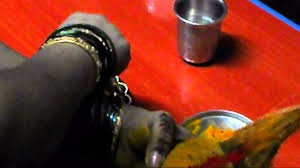 Varalakshmi Vratham Decoration Ideas In Tamil by Varamahalakshmi Habba Or Puja Coconut Decoration Sudha Balaji