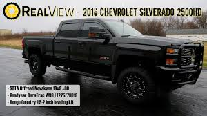 RealView - Leveled 2016 Chevy Silverado 2500HD W/ 18