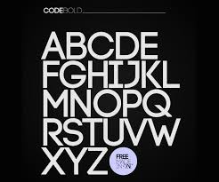 Code Free Font 3 Bold Fonts 42 Thick To Use