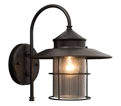 vincent black mains powered external wall lantern lights walls