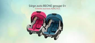 siege auto adac siège auto beone groupe 0 mycarsit