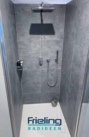 nischen nutzen dusche große fliesen badideen oldenburg