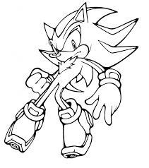 Free Printable Sonic The Hedgehog Coloring Pages For Kids Color To Print