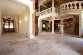 Indoor Tile Floor Natural Stone Matte Auberoche Bouriane Pertaining To Tiles