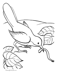 Free Coloring Pages Birds 16 Animal