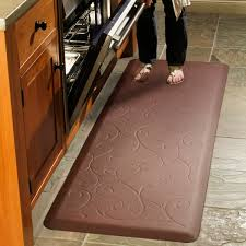 Decorative Cushioned Kitchen Floor Mats by Rubber Kitchen Flooring Options High Quality Home Design