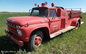 100 Ford Fire Truck 1965 F600 Fire Truck Item DH9615 SOLD June 7 Vehic