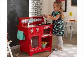 jeu de cuisine pour gar輟n cuisine en bois kidkraft 53362 kitchenette