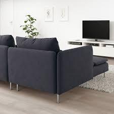 söderhamn 4er sofa mit récamiere offenes ende samsta